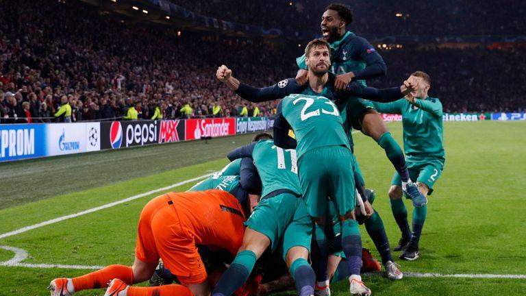 Tottenham Bikin Sejarah, Inggris kalahkan Rekor Milik Spanyol